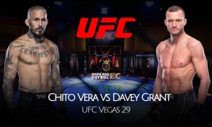VER HOY Marlón 'Chito' Vera vs Davey Grant EN VIVO ESPN PELEA UFC