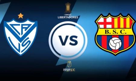 Vélez Sarsfield vs Barcelona SC EN VIVO OCTAVOS DE FINAL COPA LIBERTADORES
