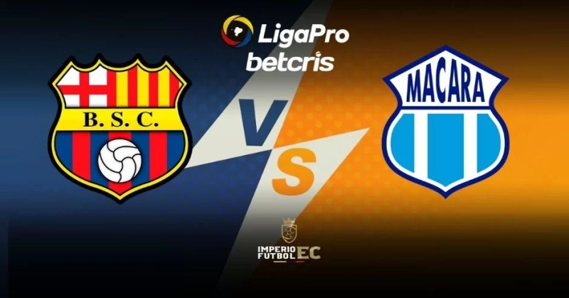 VER Barcelona SC vs Macará EN VIVO Canal TV para el partido por la Liga Pro