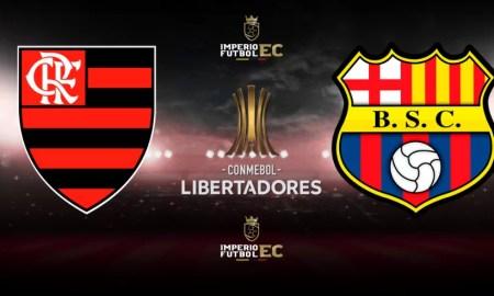 Flamengo vs Barcelona SC EN VIVO SEMIFINALES DE LA COPA LIBERTADORES