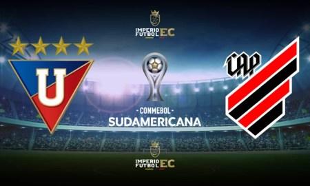Liga de Quito vs Athletico Paranaense EN VIVO Copa Sudamericana
