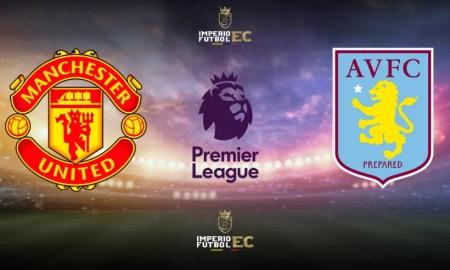 Manchester United - Aston Villa EN VIVO ver partido por la Premier League