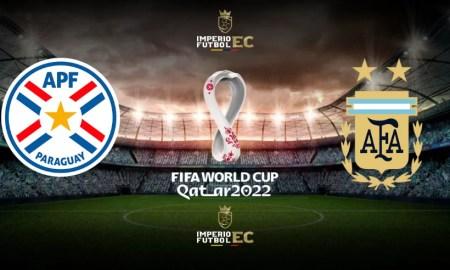PARTIDO PARAGUAY VS ARGENTINA EN VIVO FECHA 11 Eliminatorias