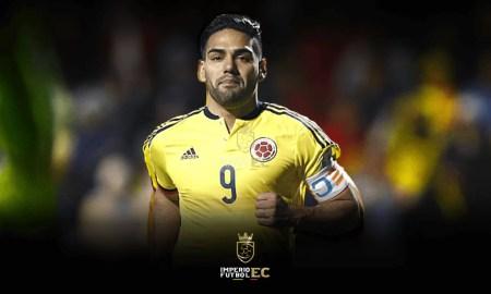 Radamel Falcao se disculpó con Alexander Domínguez por su gesto en el gol que anuló por el VAR-2021