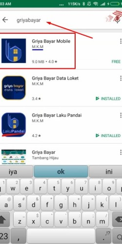 install aplikasi mobile