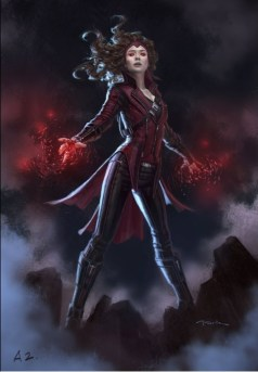 Scarlet Witch Conpet Andy Parks