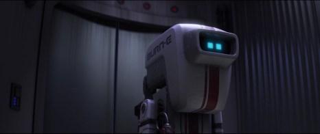 8) All'interno delle edizioni home video del film possiamo trovare un cortometraggio spin off che si concentra sul robottino BURN-E, incaricato di riparare una delle luci esterne della Axiom. Le disavventure del piccolo robot si collegano strettamente a quelle di Wall-E e sono anzi provocate dal nostro protagonista.