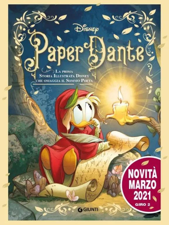 Disney PaperDante, novità in occasione del Dantedì