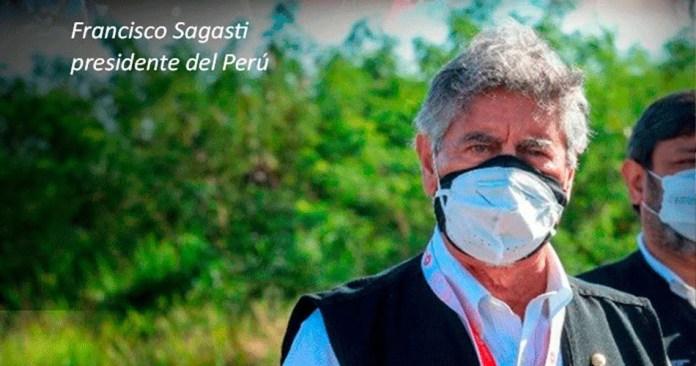 Llega presidente Sagasti con 21 990 mil dosis de Pucallpa