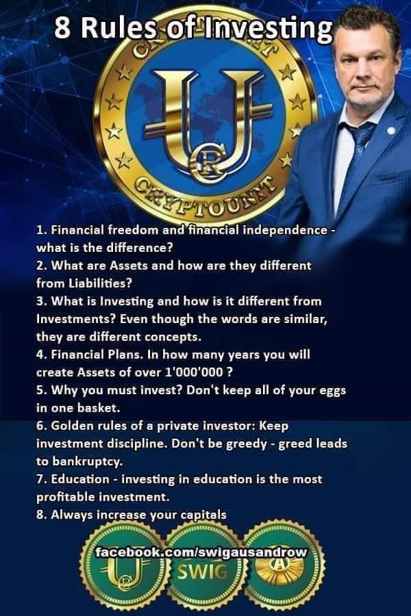 8 Rules of Investing