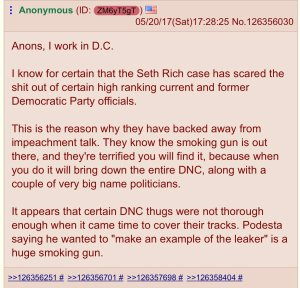"Seth Rich ""Trap"" Ready To Be Sprung Against Deep State"