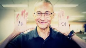 "John Podesta ""The Molesta"" with occult marking on hands."