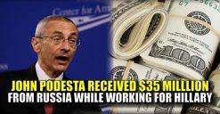 John Podesta's very real Russian connection
