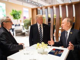 Trump Offers Photographic Proof of Election Meddling, Putin Silent