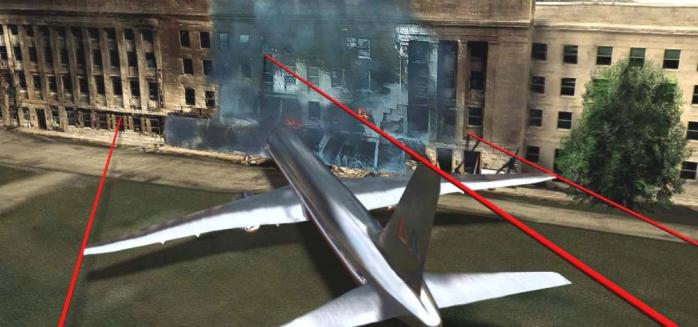 """…and that """"real news"""" journalists like David Andreatta say was made by a plane like this."""