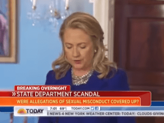 VIDEO: Hillary Clinton Threatened NBC Staff Over State Dept. Pedophile Ring Story