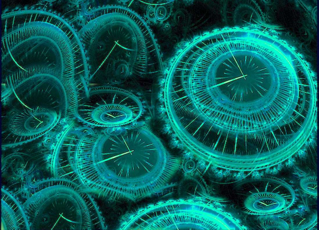 The Time Machine of Consciousness. Past Present Future Exist Simultaneously.