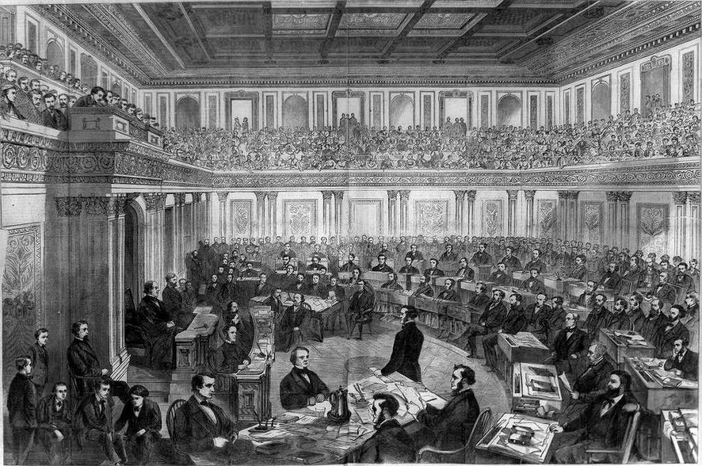 President Andrew Johnson escaped impeachment in 1968 by just one vote. He was under a cloud of suspicion for complicity in the Lincoln assassination after it was established he had met with John Wilkes Booth before the killing. That year his career was over. Exactly 100 years later, and Johnson, Lyndon Baines Johnson, would quit politics and abandon a re-election under suspicion of complicity in the Kennedy assassination. Johnson & Johnson: President Andrew Johnson escaped impeachment in 1968 by just one vote. He was under a cloud of suspicion for complicity in the Lincoln assassination after it was established he had met with John Wilkes Booth before the killing. That year his career was over. Exactly 100 years later, another Southerner named Johnson, President Lyndon Baines Johnson, would quit politics under the suspicion of complicity in the Kennedy assassination.