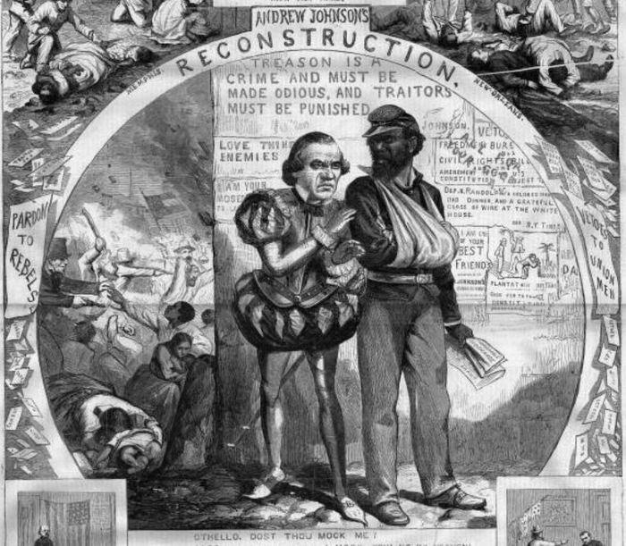 Lincoln Assassination suspect President Andrew Johnson