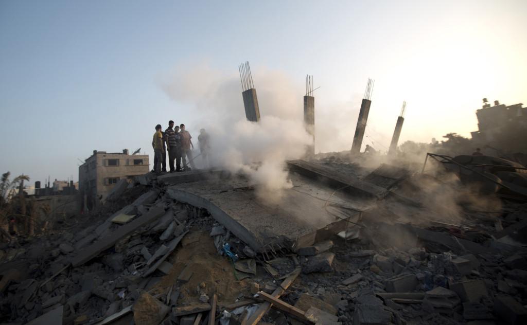 Israeli strikes.