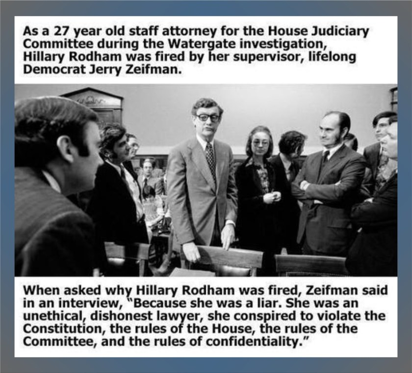 Hillary Clinton integrity. Record. Fitness for high office. #1ab