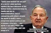 New World Order as defined by David Rockefeller.