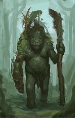 Tyler Scarlet - Hatonacat - forest giant tall