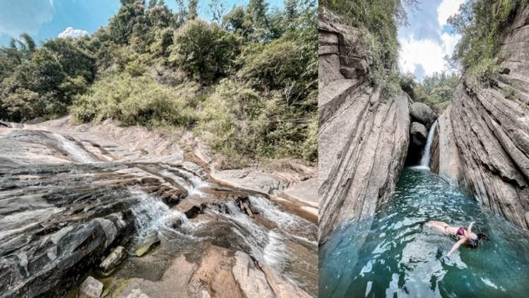 千層岩瀑布攻略,20分鐘可達!含GPX路線檔下載 台南秘境