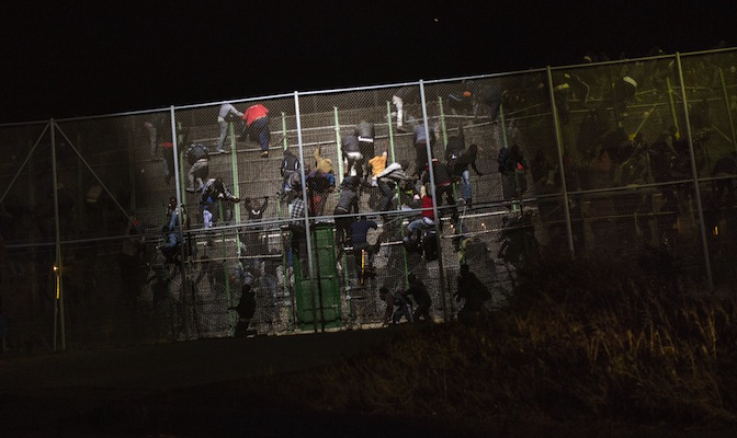 Evelyn Marsters on Migration and Melilla crossing, Impolitikal