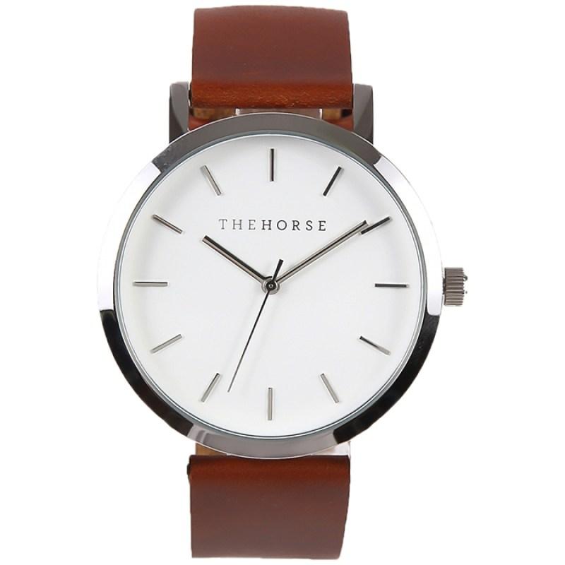 THE HORSEザホース The Originalオリジナルシリーズ腕時計使いやすいビッグフェイスで手首が細く見えます。