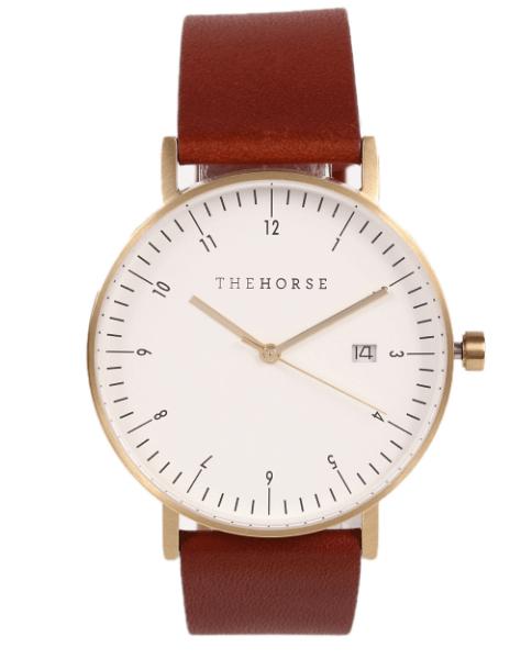ザホース日付機能付き腕時計
