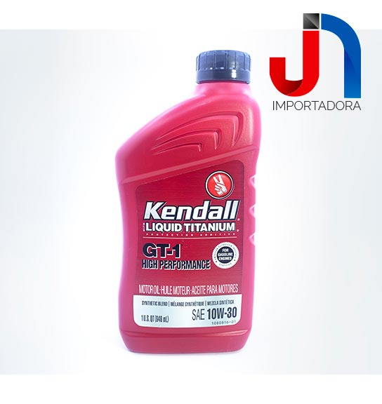 ACEITE SAE 10W30 LT KENDALL GT-1 SYNTHETIC BLEND