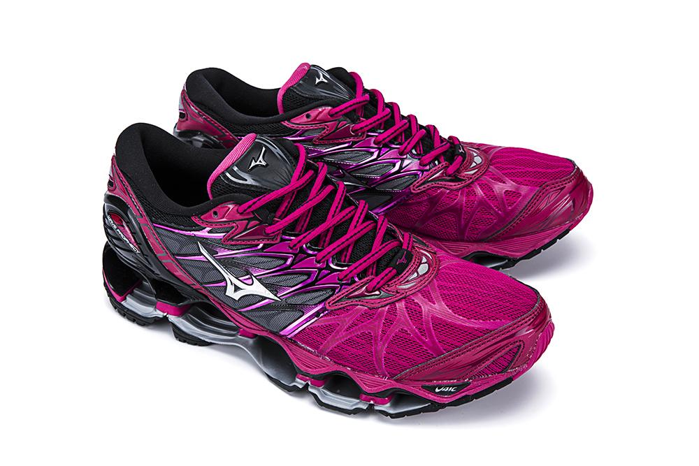 tenis mizuno feminino rosa pink runner