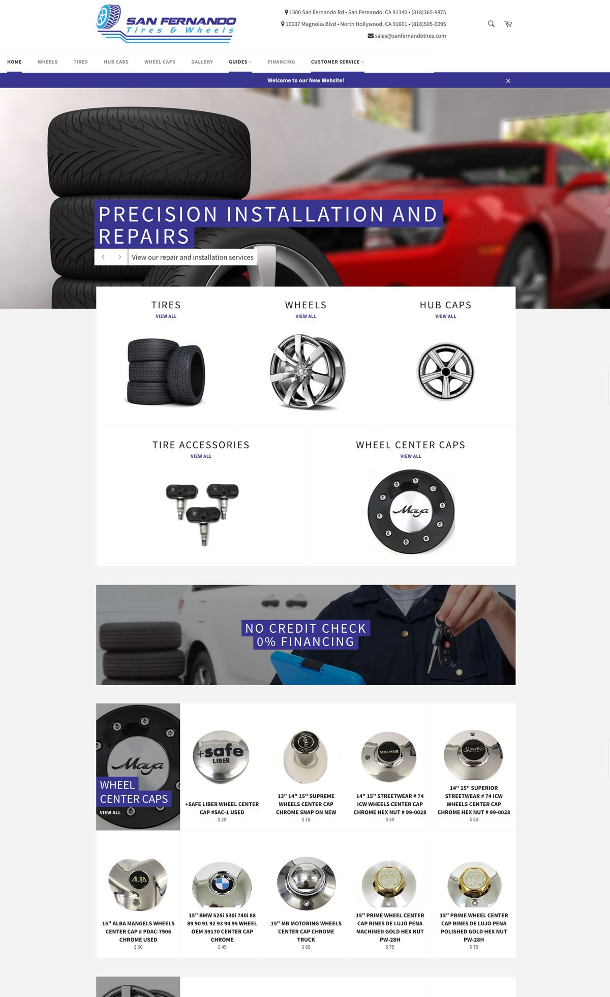 San Fernando Tires & Wheels