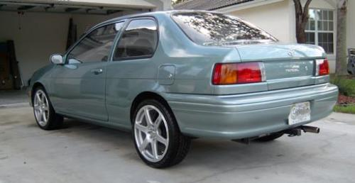 Photo Image Gallery  Touchup Paint Toyota Tercel in