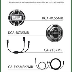 Kenwood SDin Marine Receiver (CD / USB / BT / SXM Ready