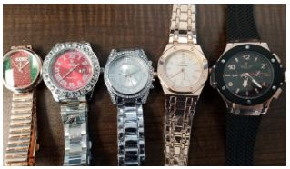 Seized Watches