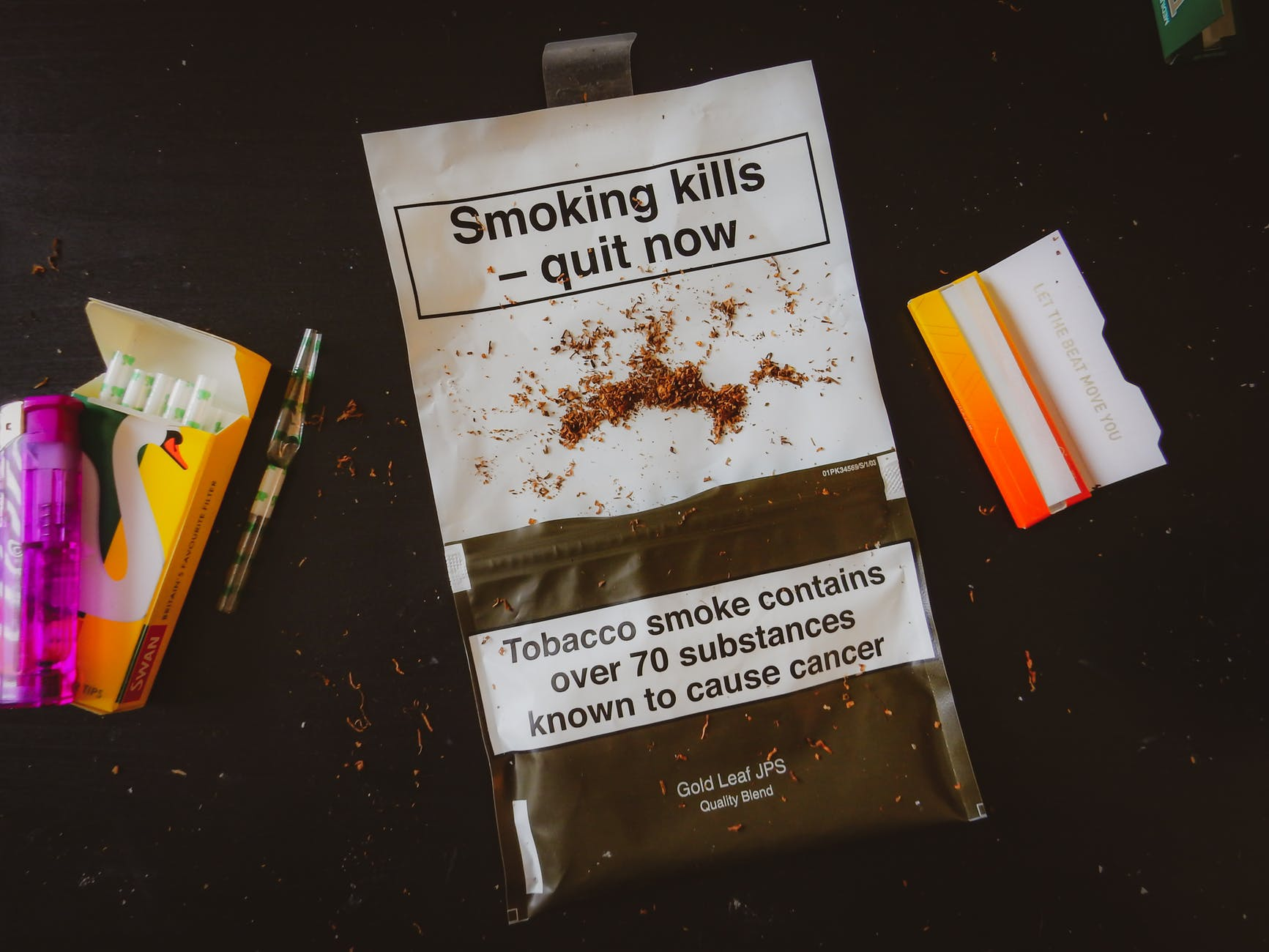 photo of tobacco pack