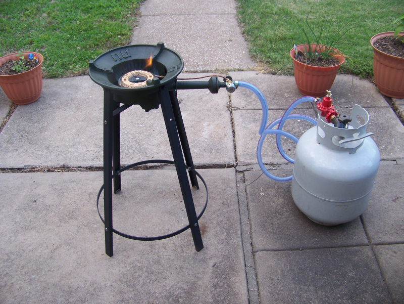 Extremely Powerful Thai Gas Burner With Stand  ImportFood