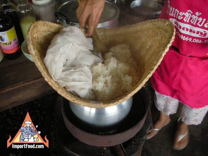Thai Sticky Rice How to Make It  ImportFood