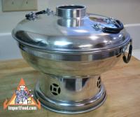 """Hot Pot"" Thai Soup Serving Bowl with Lid :: ImportFood"