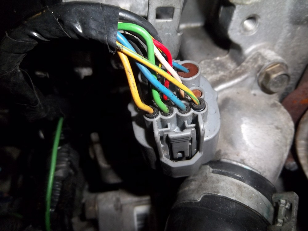 medium resolution of diagram 1 locations of wire colors on jdm distributor plug