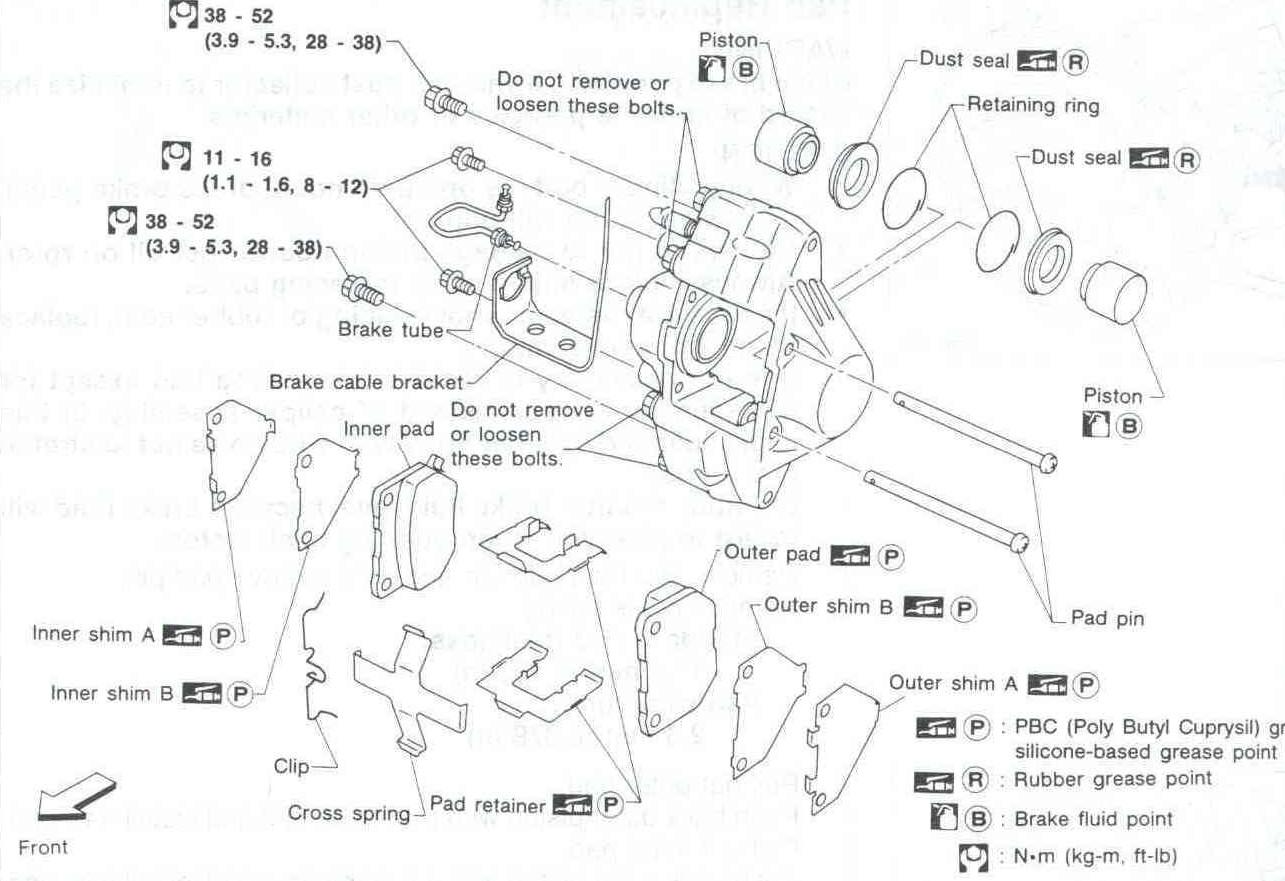 hight resolution of chrysler town and country drum brake diagram sar 110 rear brake caliper sar 110 rear brake