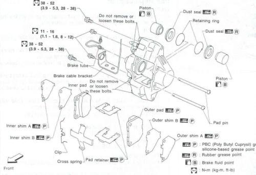 small resolution of chrysler town and country drum brake diagram sar 110 rear brake caliper sar 110 rear brake
