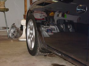 Rear Z32 wheels