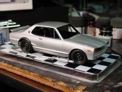 Test fitting the body.