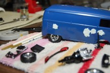 I test fitted the wheels on my VW bus and loved the way they looked. To be honest, I'd love to use these wheels on several kits. They look sharp.