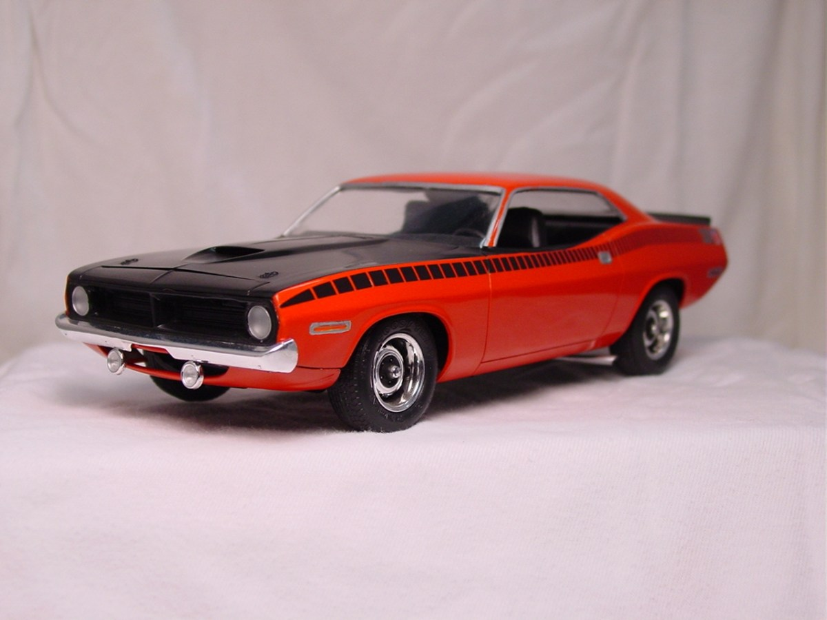 1970 Plymouth AAR Cuda - Revell