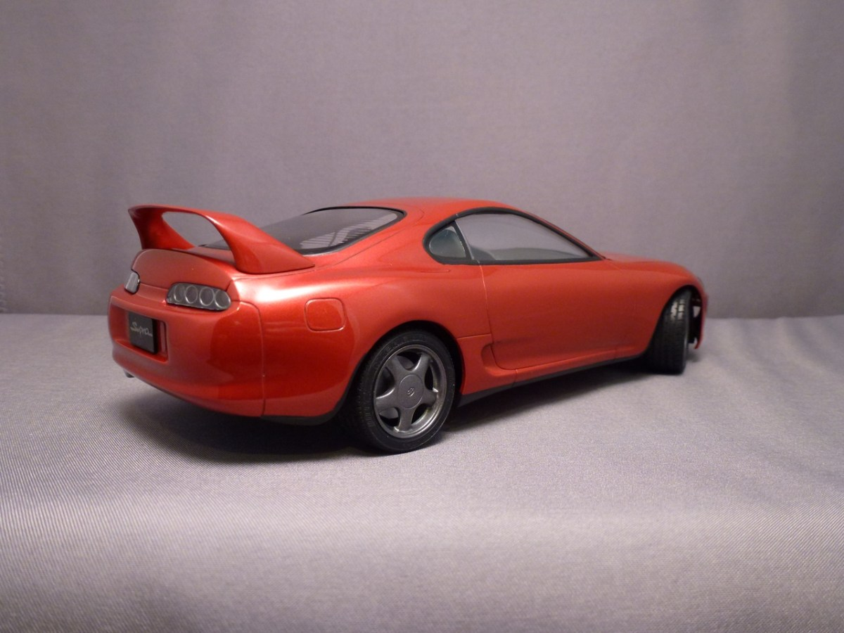 Toyota MKIV Supra Turbo - Tamiya