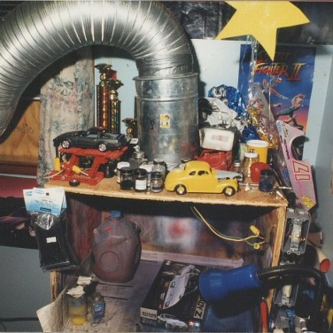 My paint booth circa 1995